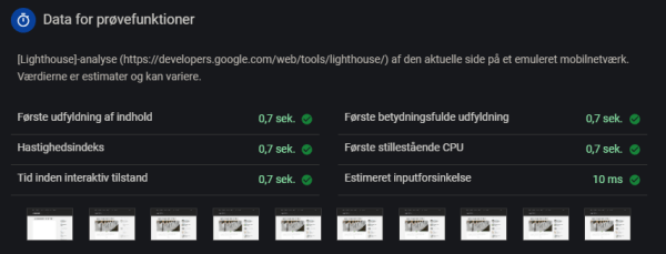 Desktop efter CloudFlare