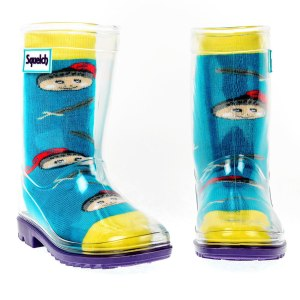 Squelch Wellies Knight Sock