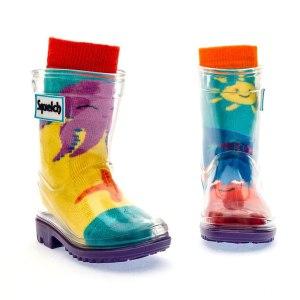 Squelch Wellies Sunshine Sock