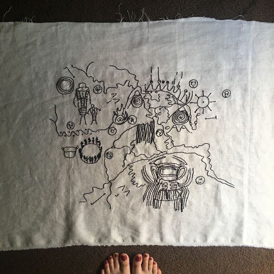 hand_embroidered_owl_cave_map_from_twin_peaks