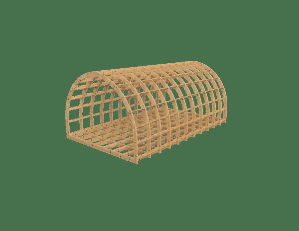 Oversize glamping pod frame kit