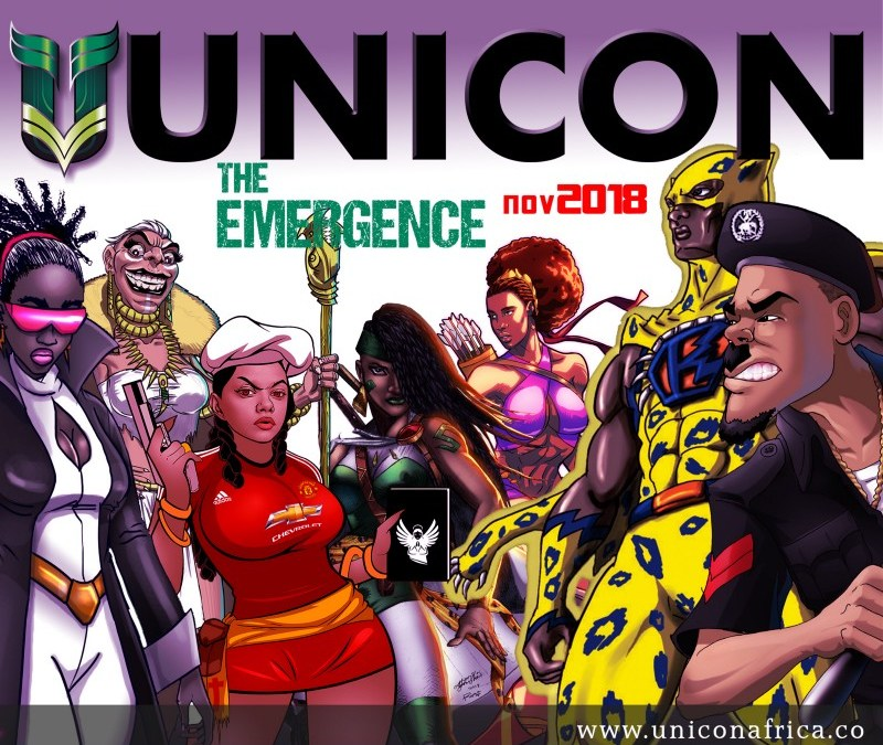 Get Ready For UNICON: The Emergence by Creative Industry Conventions Africa (CICA)