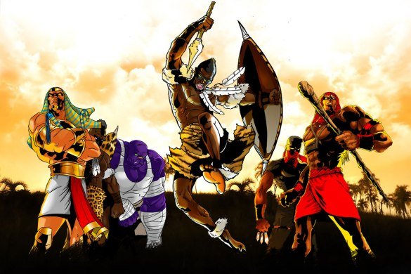 Africa's Legends by Leti Arts