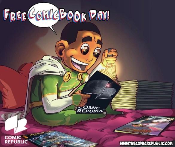 African Free Comic Book Day comic republic