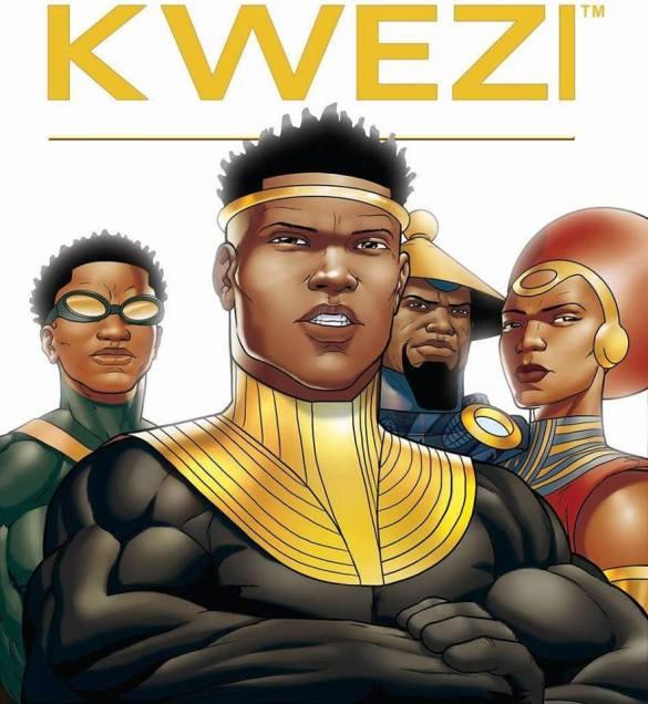 Cover of Kwezi, African Comics