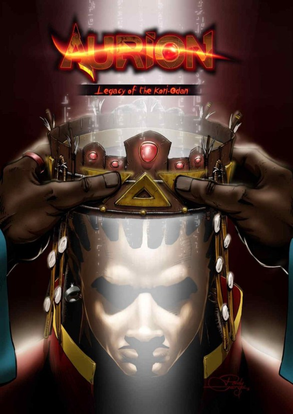 Cover of Aurion comic book