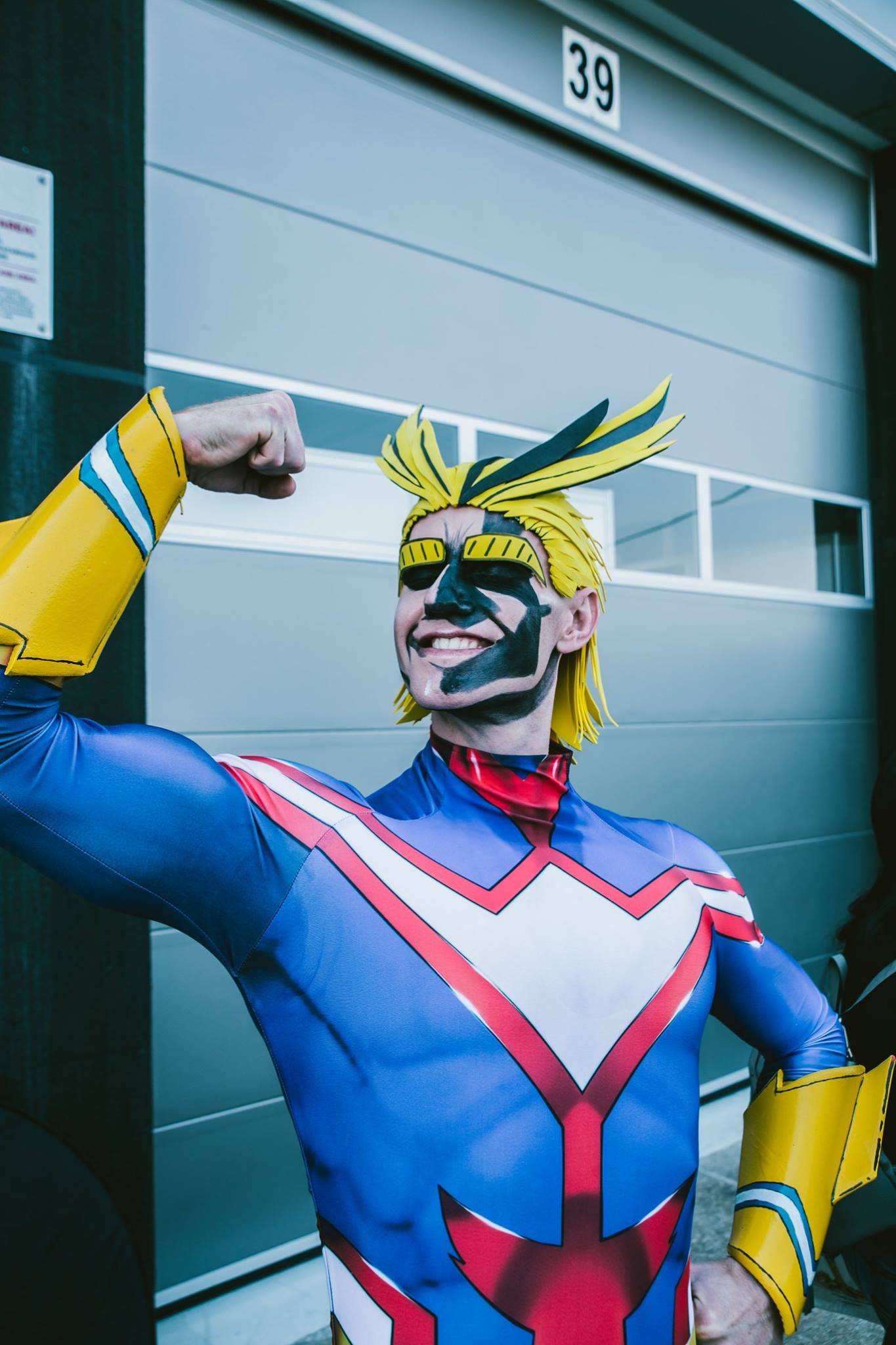All Might cosplay at Comic Con Africa