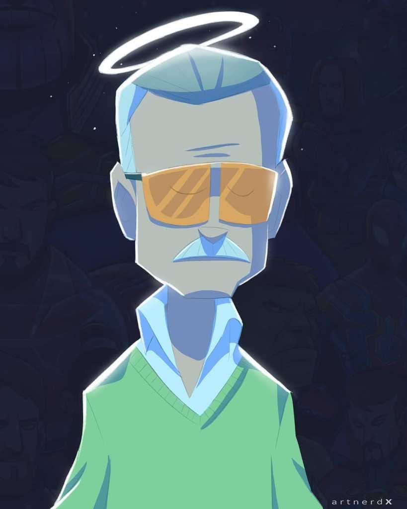 Stan Lee by Bolaji Olaloye