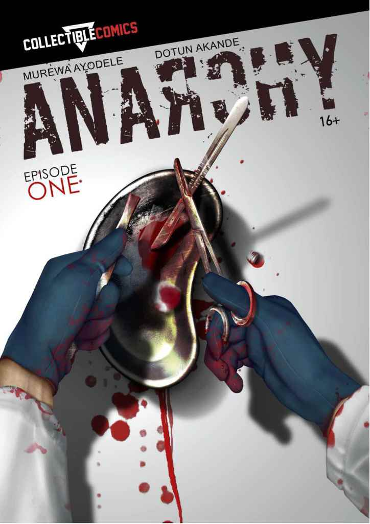 Anarchy comic cover by Dotun Akande