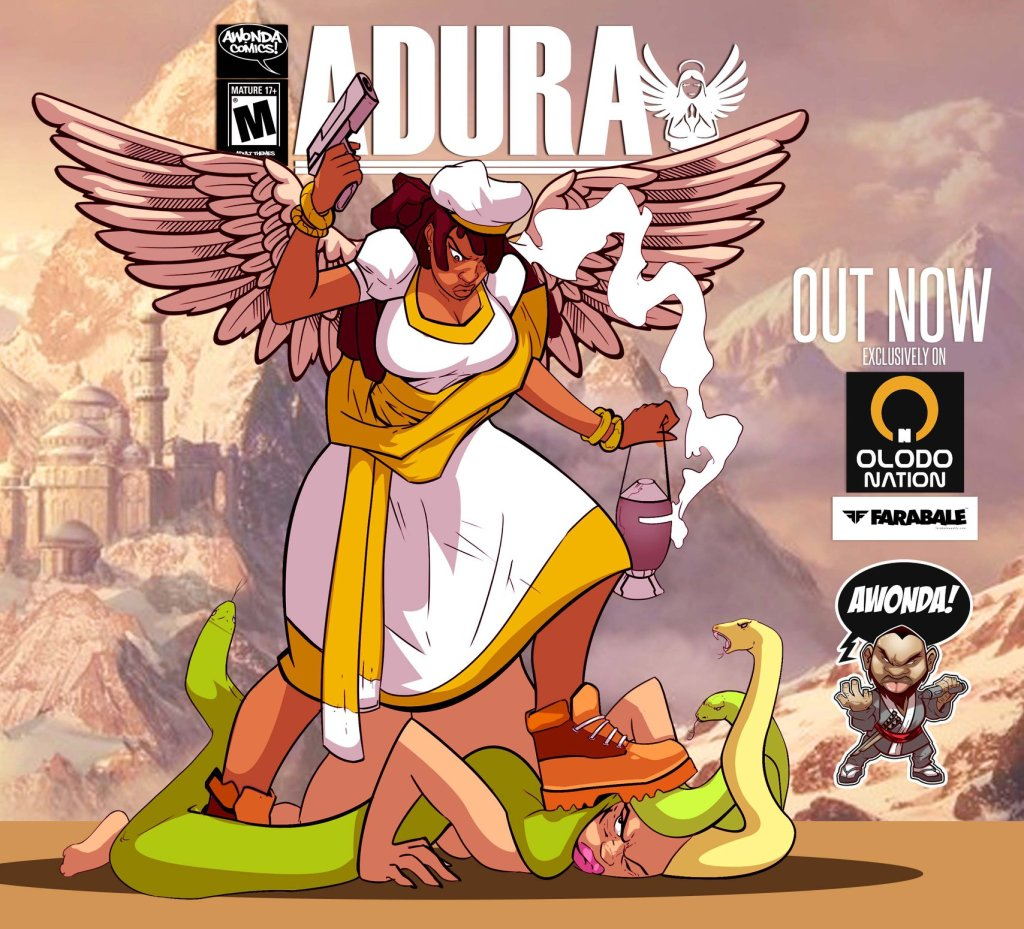 Adura, comic book by Collyde Prime published by Awonda Comics