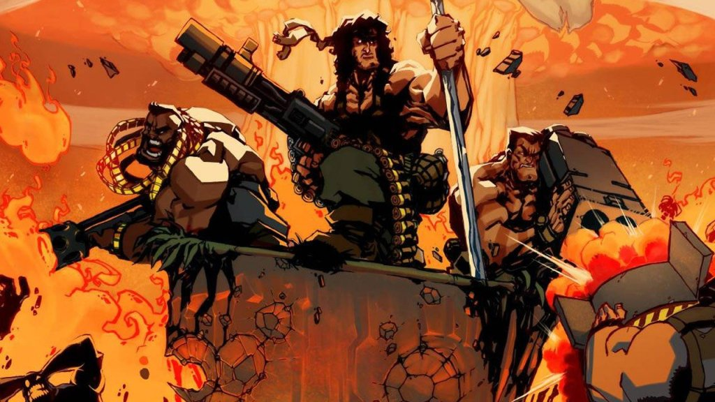 Broforce one of the awesomest African games