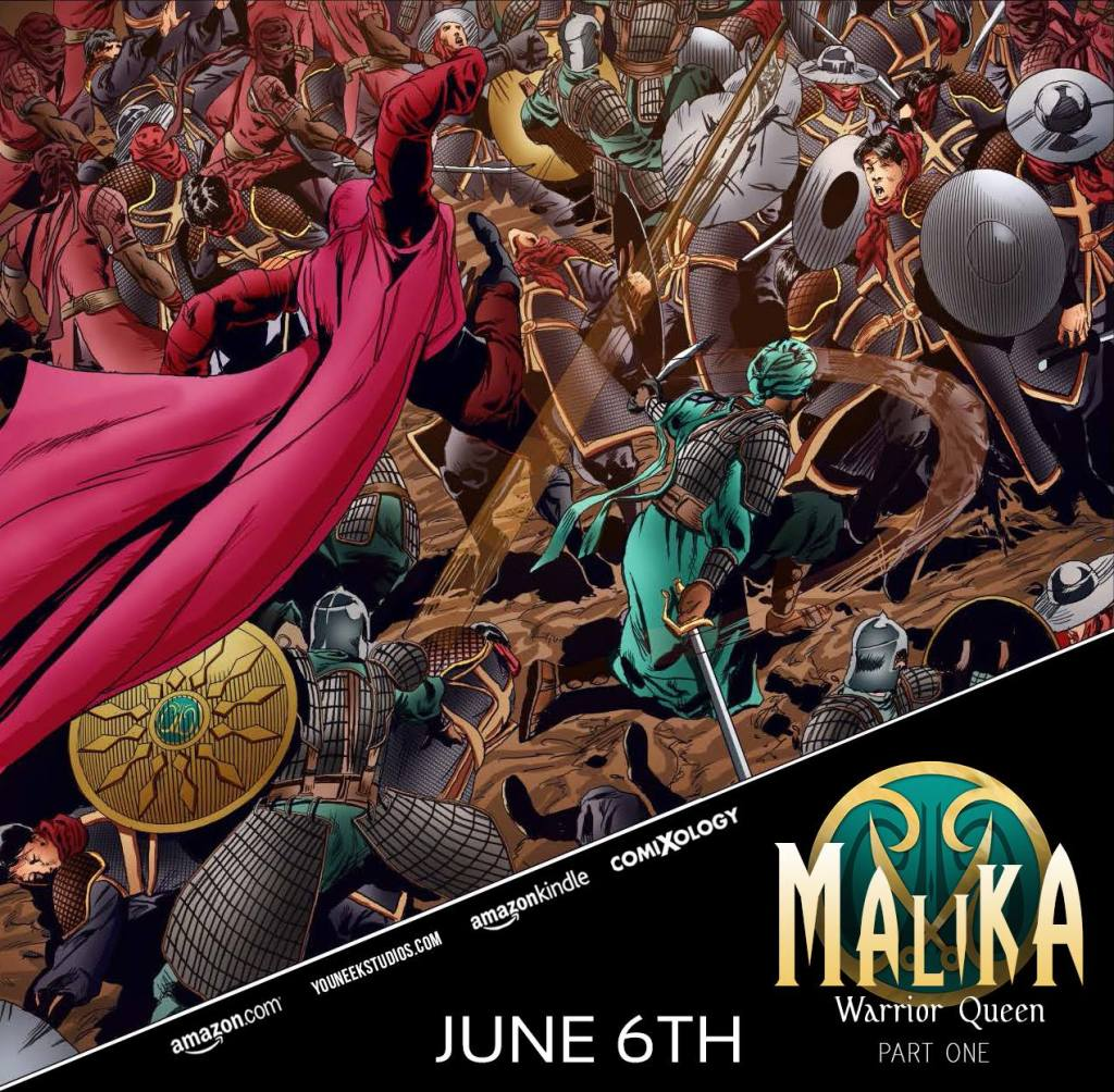 Promotional cover of Malika Warrior Queen  by YouNeek Studios