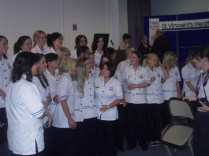 Some of the new nurses.