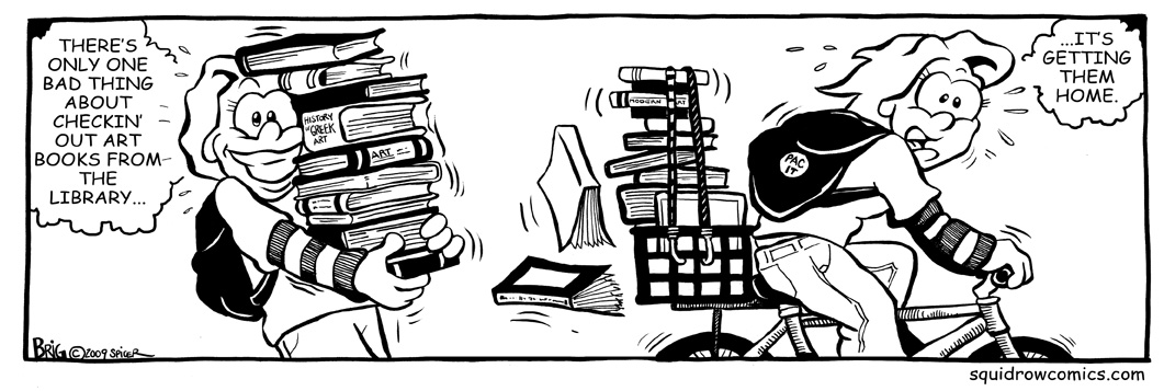 Library Book Load