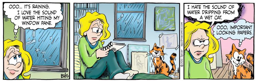 Rainy Wet