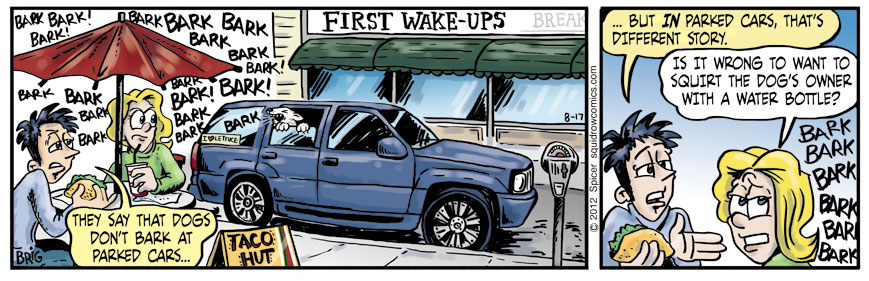 Parked Dog