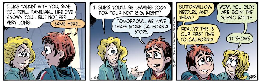Leaving CA