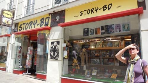 Found the comic book store!