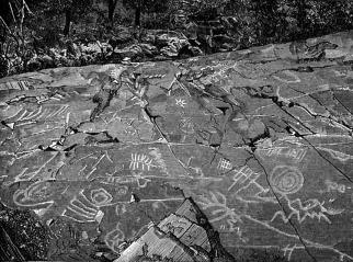 Algonquin, Canada petroglyph