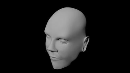 face model progress25