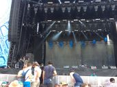 At the Samsung Galaxy Stage