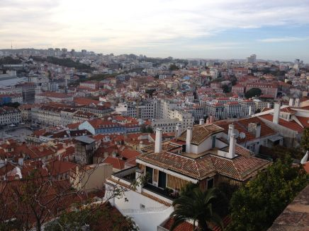 Lisbon from the Castle