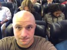 Me on a plane