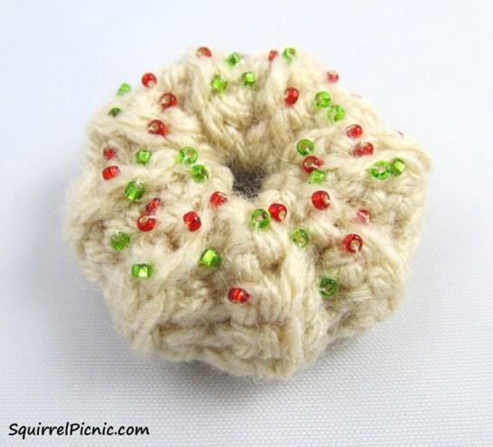 Wreath Spritz with Sprinkles