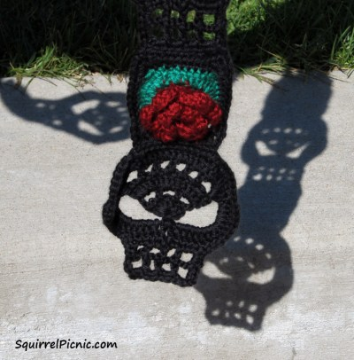 Sugar Candy Skull Crochet Pattern | Squirrel Picnic