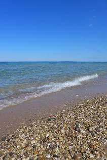Lake Michigan at Sturgeon Bay