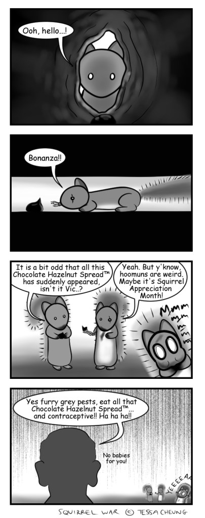 squirrel contraception