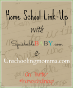 Homeschool Link-up on Squishablebaby.com | @bisforbookworm