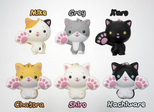 Soft cat mascot