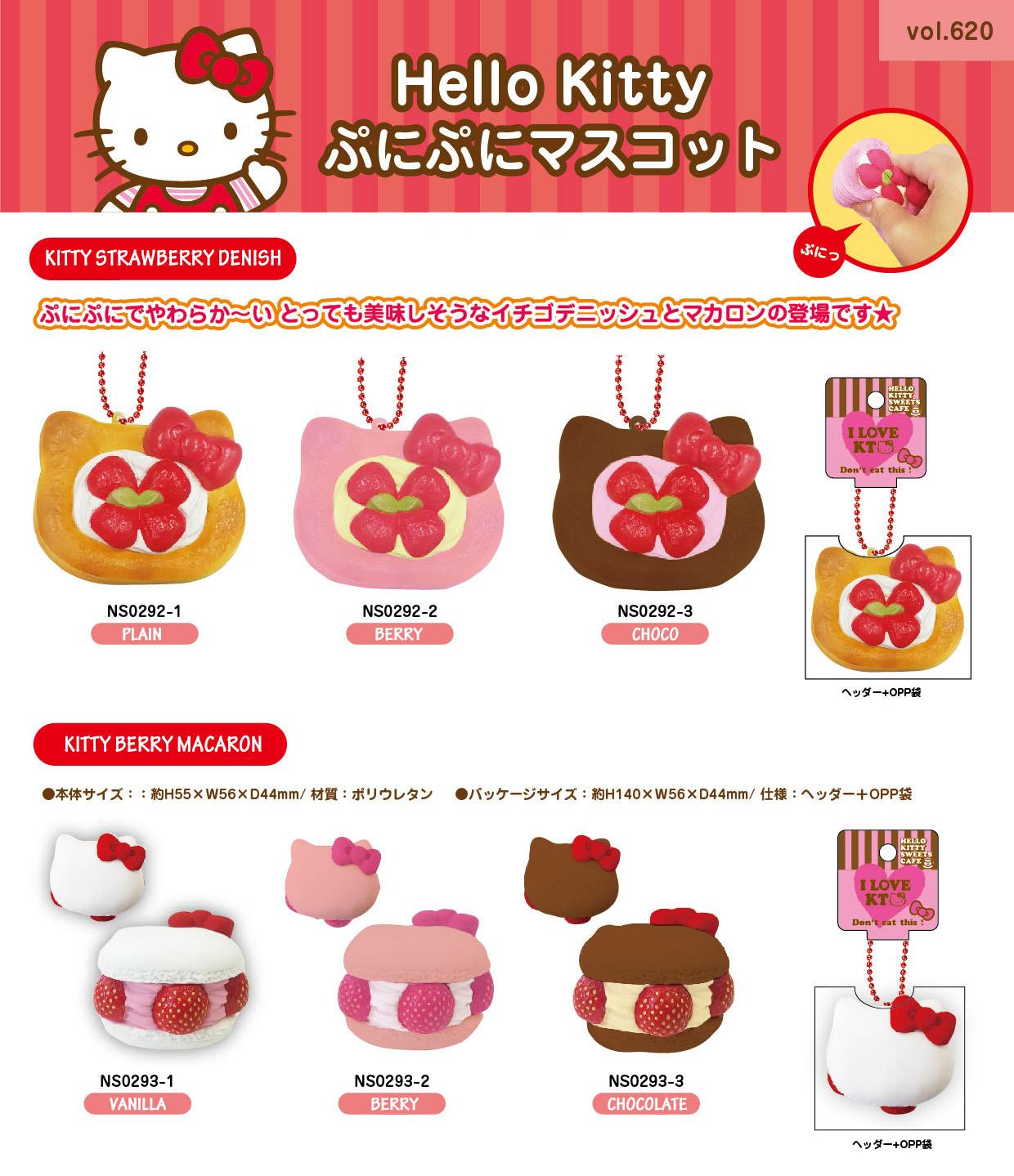 New Item Creative – Hello Kitty Strawberry Denish And Berry Macaron