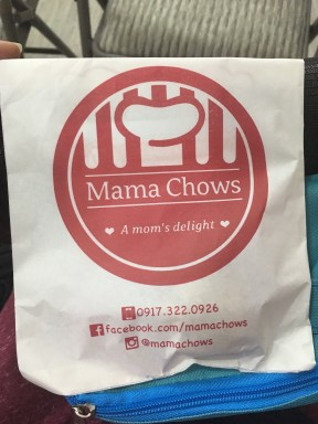 Samples of Mama Chow's lactation snacks (cheese cupcakes and chocolate chip cookies).