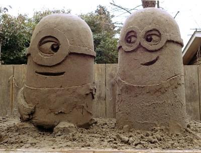 Despicable rain ruins sand Minions | sqwabb