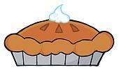 Clipart of Thanksgiving Pie k4982450 - Search Clip Art ... (170 x 100 Pixel)