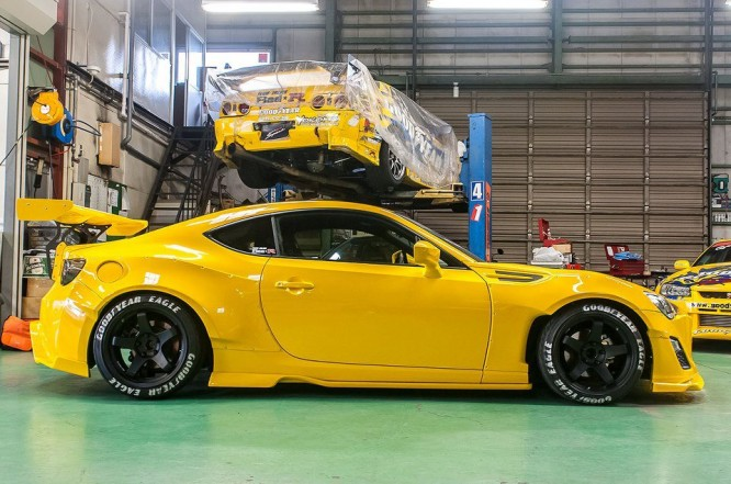 BeeR BRZ Now Sporting A Driftworks Nardi Amp Fresh Paint