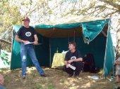 Paul & Chris, Club AGM, Koetong 2001