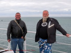 Manny and Andy on the Queenscliff Ferry, 2013