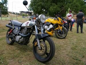 Nick's XT500, Bethanga 2013