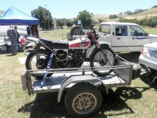 Peter Taylor's XT500, Bethanga 2015
