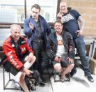 Rob, Canice, Matt & Ronnie, Bethanga 2015