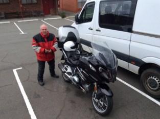 David arrives at his motel in Hobart.