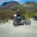 Drew on the Gordon River Rd, nr Strathgordon.