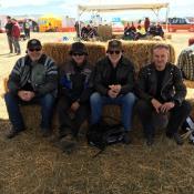 L-R: Tony Jones, Jeff Gillman, Paul Newbold, Craig Lemon.