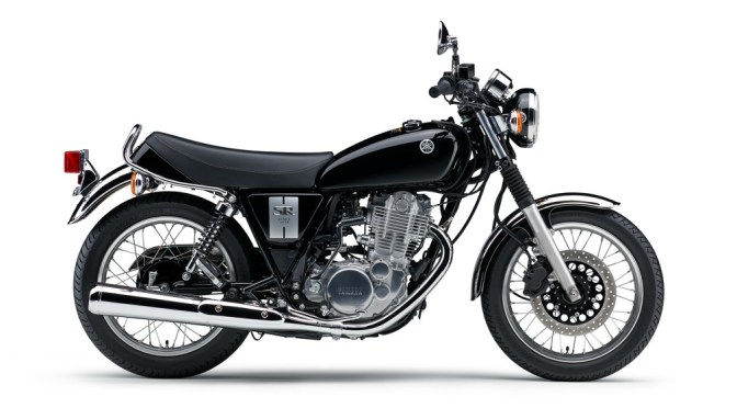 Yamaha recommences production of the SR400