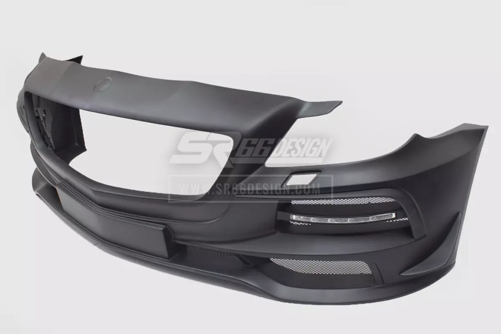 front bumper - Mercedes SL R230 SR66.1 wide body kit