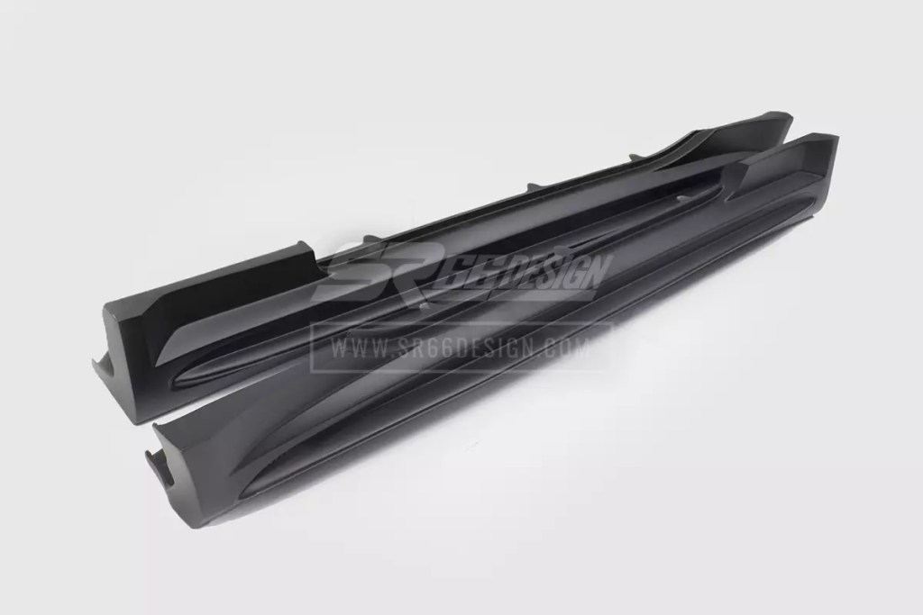 sideskirts - Mercedes SL R230 SR66.1 wide body kit