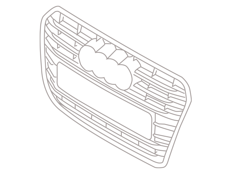 Audi A5/ S5 radiator grille